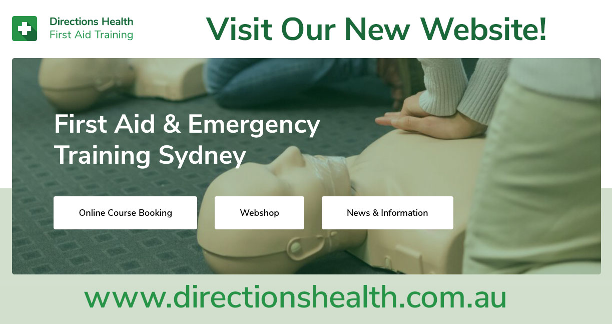 Visit our new wbsite at www.directions.health.com.au